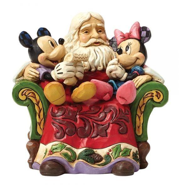 Karácsonyi Köszöntők (Télapó Mickey & Minnie Egér Figura)