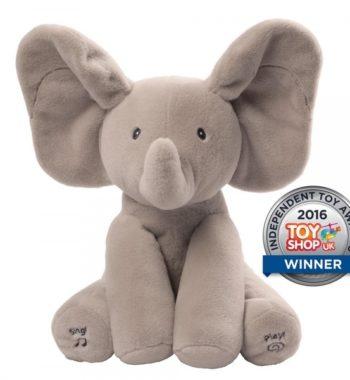 Füles a Mozgó Elefánt - Baba plüssök és játék webáruház