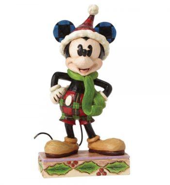 Boldog Mickey Egér Figura