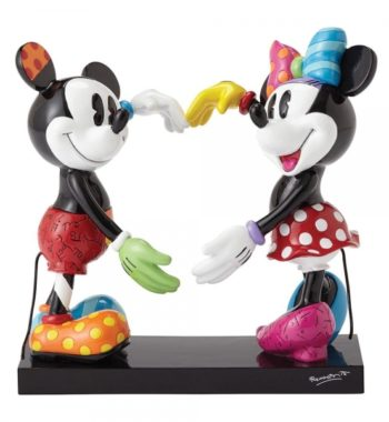 Mickey & Minnie Egér Figura