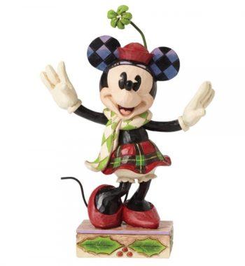Boldog Minnie Egér Figura