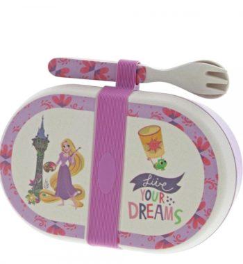 Eredeti Disney webáruház - Rapunzel Szerves Bambusz Édességes Doboz