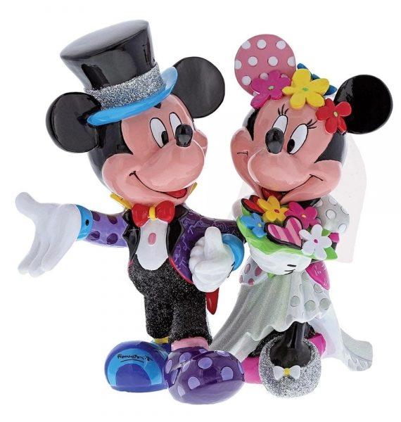 Mickey & Minnie Egér Esküvői Figura