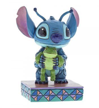 Furcsa Életformák (Stitch Békával Figura)