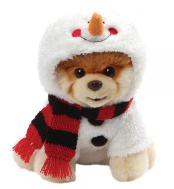 Boo A Hóember - Kutya plüss