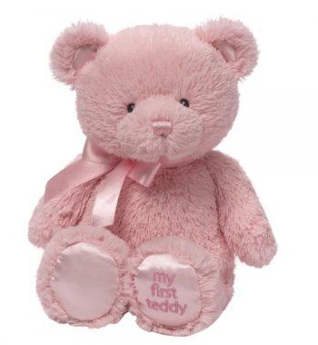 Az Első Teddy Mackóm (Kicsi Rózsaszín) - Baba plüssök és játék webáruház