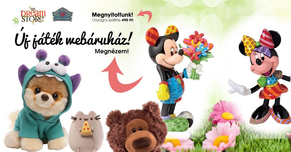 Disney Játék webáruház - Dream Store - ajándék webshop 067a09b250